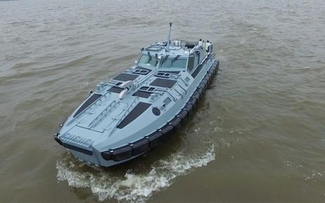 Россия испытала «морскую БМП» – десантно-штурмовую лодку проекта 02800