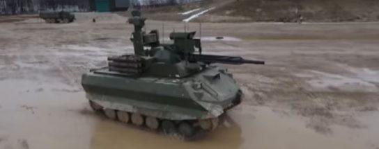 В США сравнили свои боевые роботы с российскими и прослезились