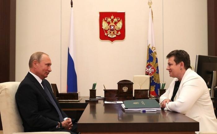 Владимир Путин провёл встречу сгубернатором Владимирской области Светланой Орловой