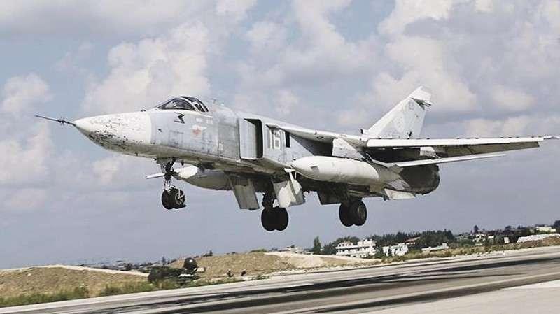 Су-24 ВКС России собирают в ударный кулак