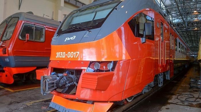 ВПриморский край начали поступать первые инновационные электрички