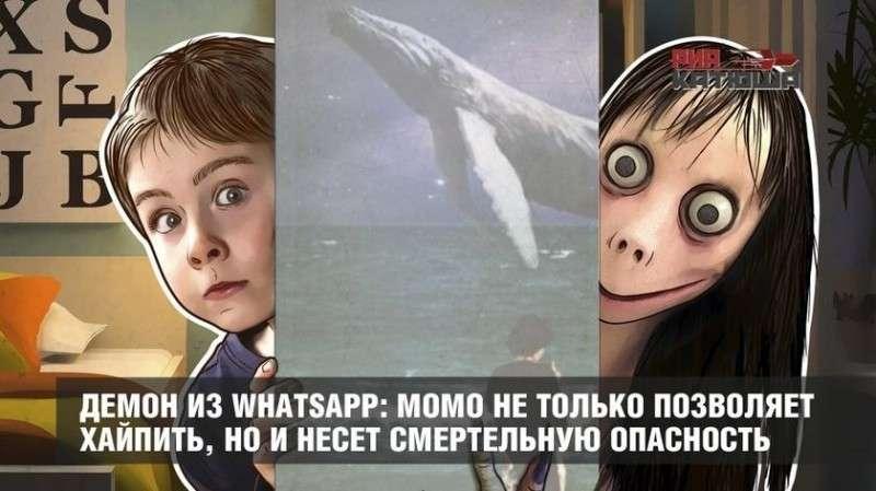 Демон Момо из WhatsApp не только позволяет хайпить, но и несёт смертельную опасность