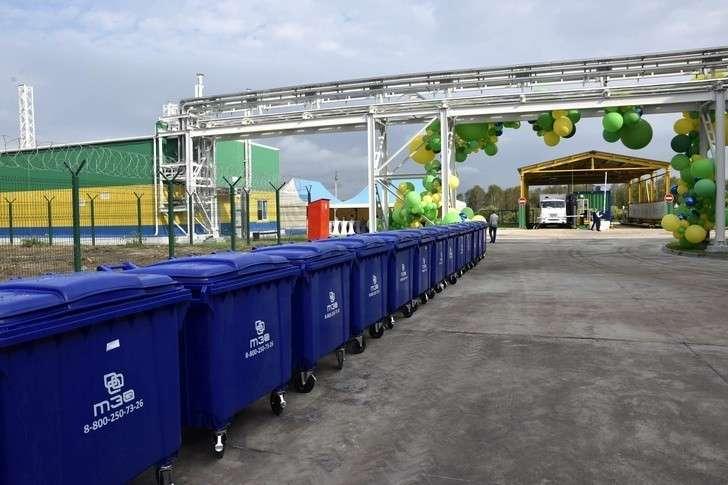 Один изкрупнейших вРоссии мусоросортировочных заводов открылся вТюмени