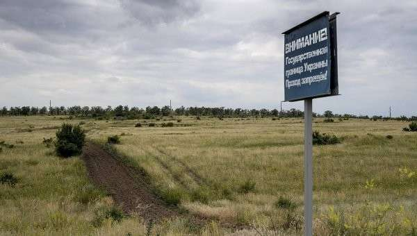Украина разворовала «стену» на границе с Россией