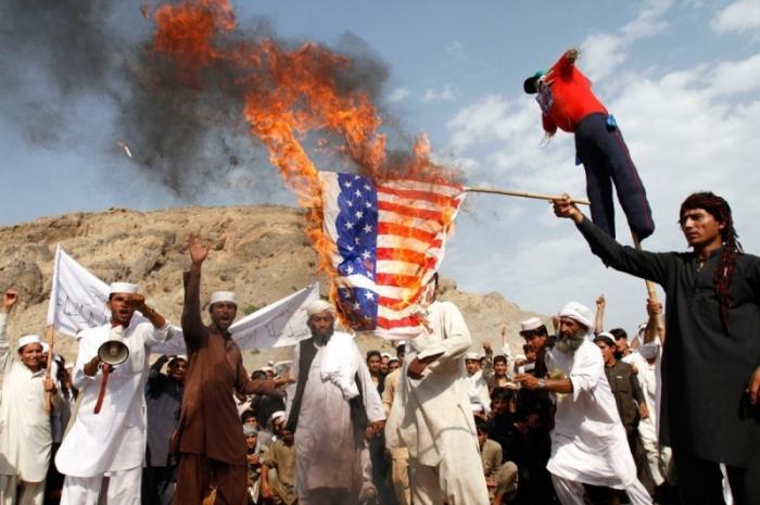Пиндосы с треском проигрывают Афганистан «Талибану» и ИГ
