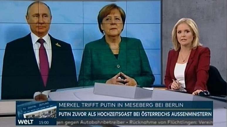 Welt (TV): большинство немцев ждут от Меркель сближения с Россией