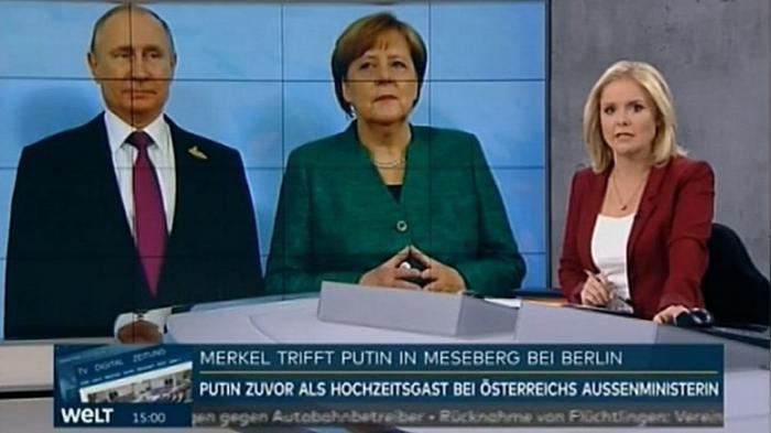 Большинство немцев считают, что Меркель должна пойти навстречу России