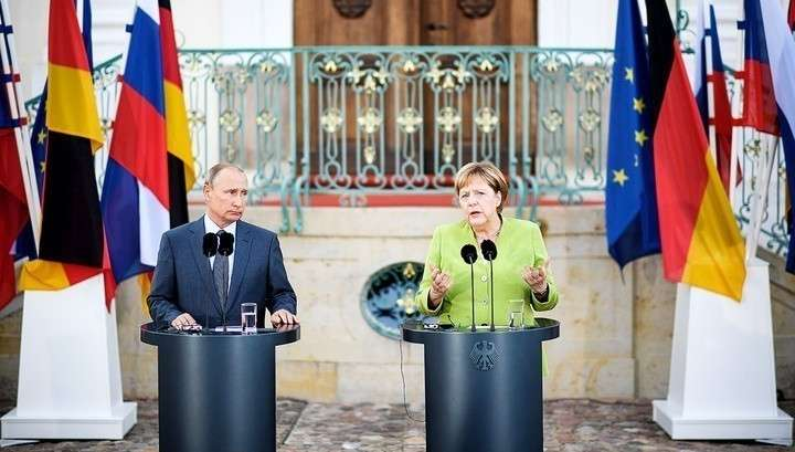 Владимир Путин и Ангела Меркель сделали ряд заявлений перед переговорами