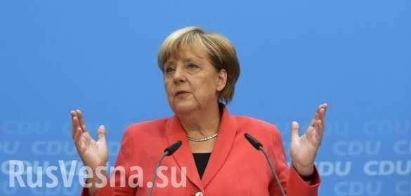 Меркель заговорила по-русски перед переговорами сПутиным (ВИДЕО) | Русская весна