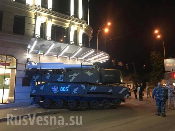 Украинский «Бук» протаранил бизнес-центр вКиеве (+ВИДЕО, ФОТО) | Русская весна