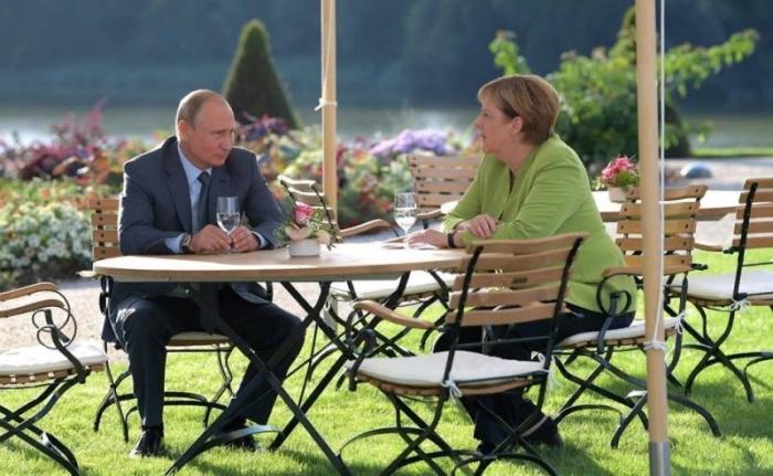 Итоги переговоров Владимира Путина и Ангелы Меркель в Германии