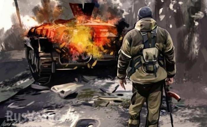 Подземные апартаменты бойцов ДНР: репортаж спередовой