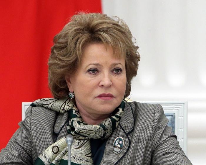 Председатель Совета Федерации заявила о провале Нового мирового порядка