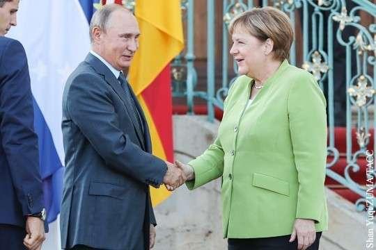 Почему встречу Владимира Путина и Ангелы Меркель стоит воспринимать как знаковую