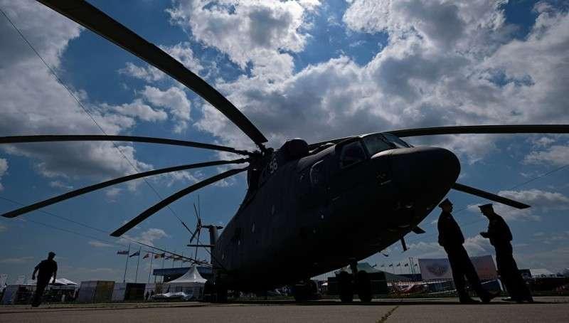 Модернизированный вертолет Ми-26Т2В совершил первый полет