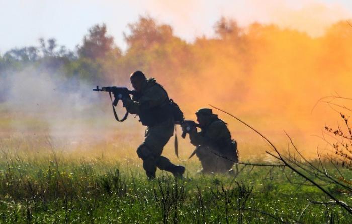 Армии-2018. Покрытие, делающее невидимыми солдат и технику