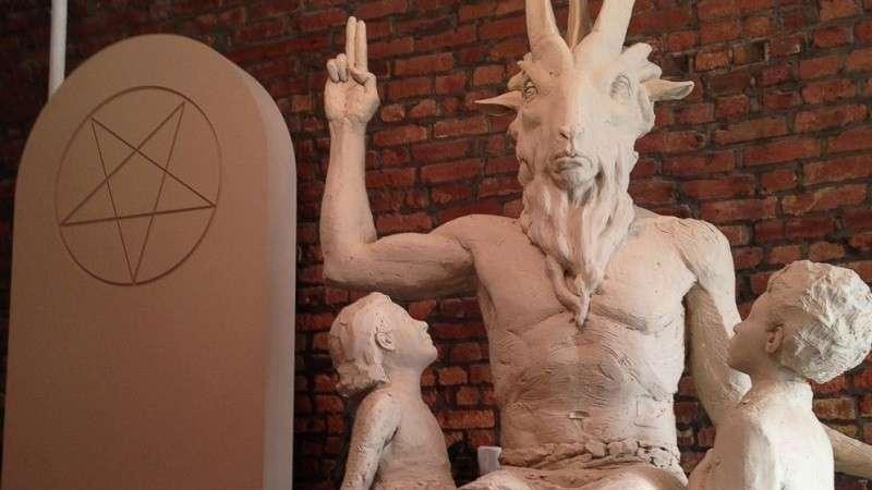 Зачем в США поставили очередную статую Сатане