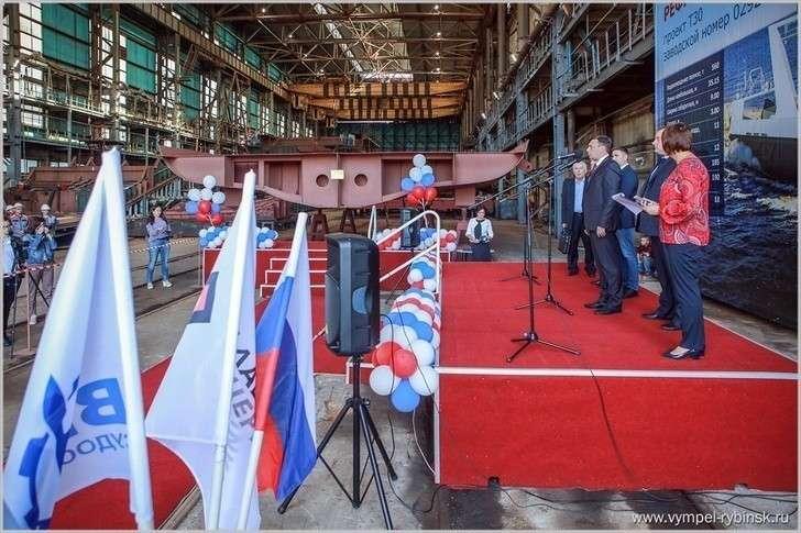 Строительство рыболовецких судов России, август 2018 года
