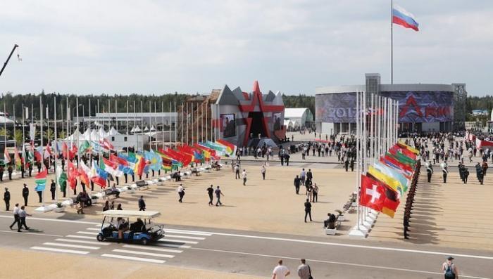 Открылся форум Армия-2018 в парке Патриот
