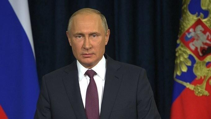 Обращение Владимира Путина кучастникам игостям форума «Армия-2018»