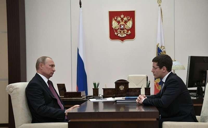 Свременно исполняющим обязанности губернатора Ямало-Ненецкого автономного округа Дмитрием Артюховым.