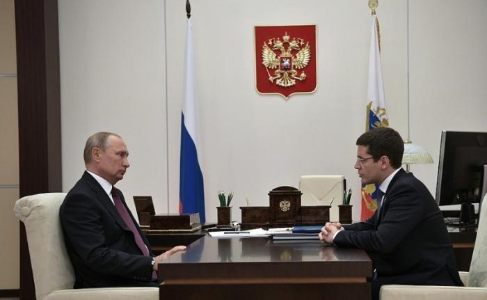 Владимир Путин провёл рабочую встречу с врио главы Ямало-Ненецкого автономного округа