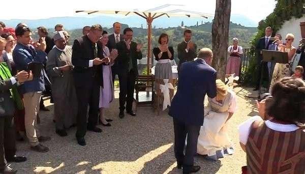 «Путин одним визитом влюбил в себя всю Австрию» – иностранцы о свадьбе главы МИД