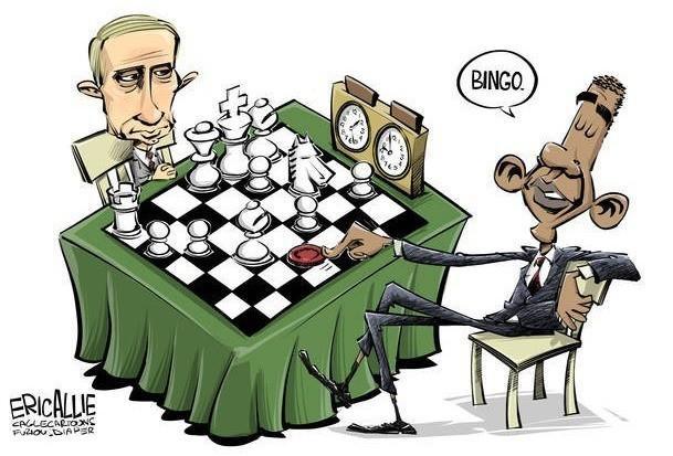 О диких пиндосах и причинах их санкций против России
