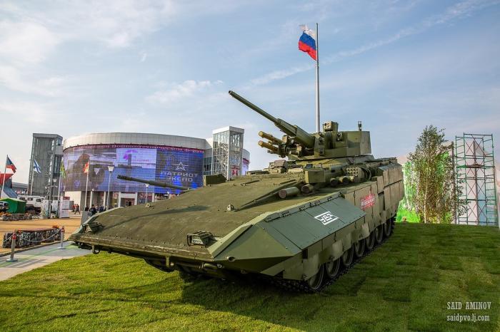 Международный форум «Армия-2018». Первый день
