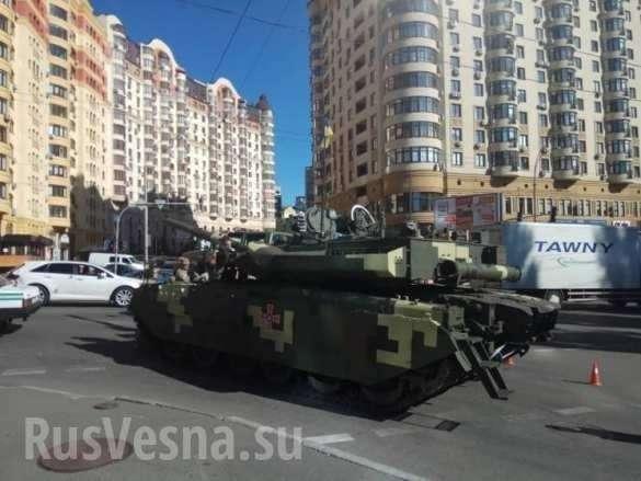 В Киеве заглох не просто танк, а гордость украинского ВПК – танк «Ятаган» | Русская весна