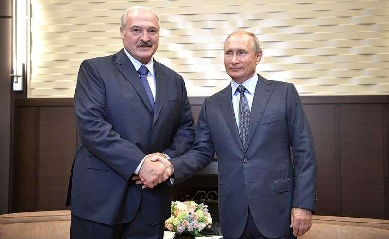 Владимир Путин встретился в Сочи с Президентом Белоруссии Александром Лукашенко