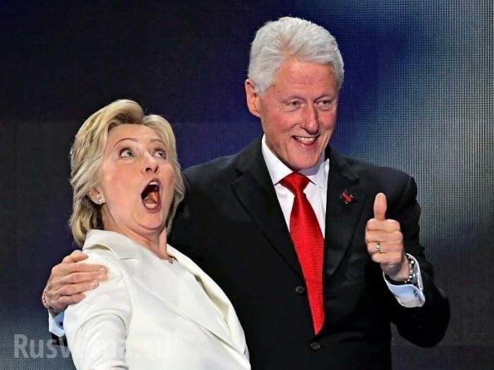 Монархия паразитов США: Клинтоны не спешат уходить в тень – на подходе дочка