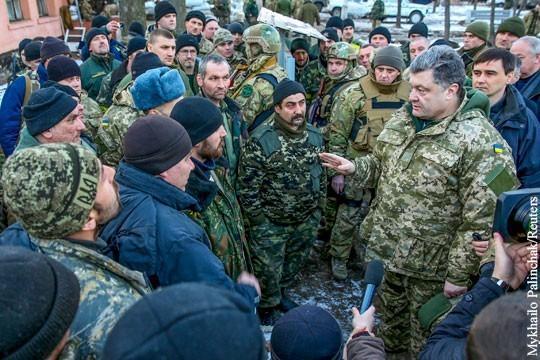 Разгром карателей ВСУ под Иловайском и Дебальцево произошёл из-за глупости Вальцмана