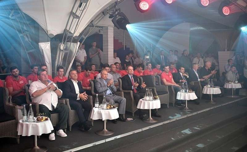 Посещение IX Международного турнира попрофессиональному боевому самбо «Плотформа S-70».