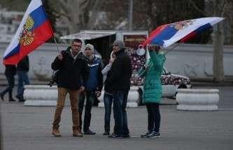 Над штабом ВМС Украины поднят российский флаг