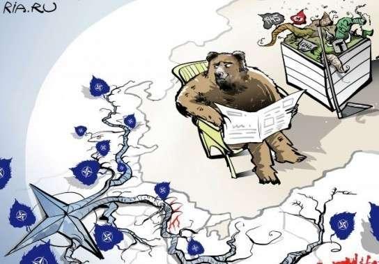 Немецкие СМИ: Русским плевать на США и НАТО вообще