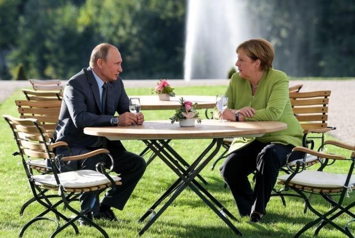 Меркель: Германия не может отказываться от российского газа