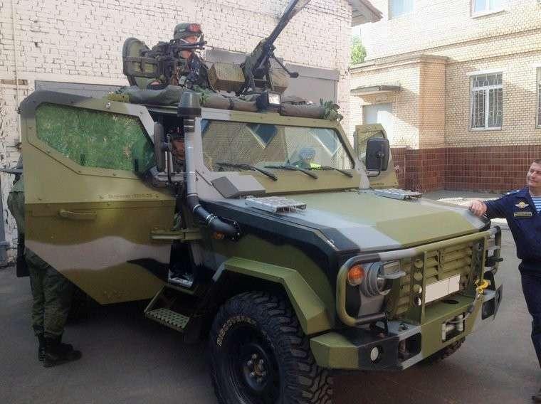 Корпорация «Защита» поставит в армию «Скорпионы»