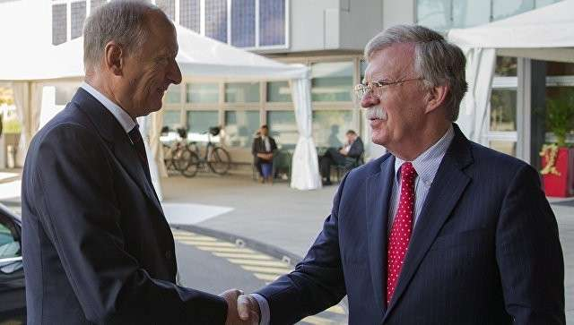 Переговоры Болтона и Патрушева окончились ещё смешнее, чем можно было ожидать