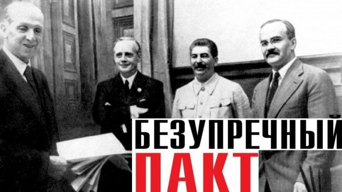 Пакт Молотова-Риббентропа сломал игру мировых паразитов