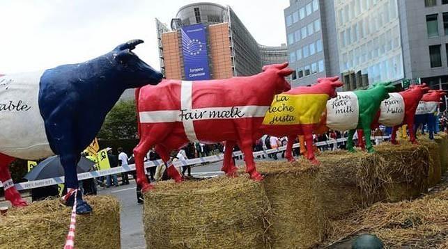 Как глобалисты ЕС уничтожает сельское хозяйство Литвы