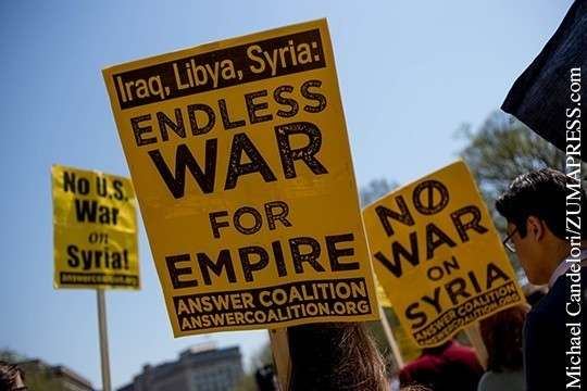 Тактика пиндосов в Сирии – очередная химатака и ракетный удар
