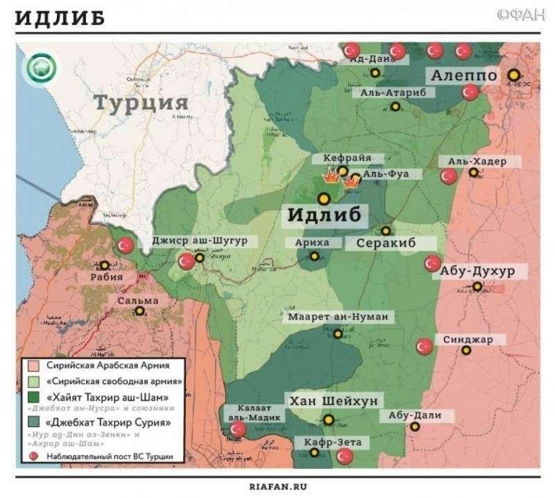 Сирия: идлибская заковыка – повод для удара