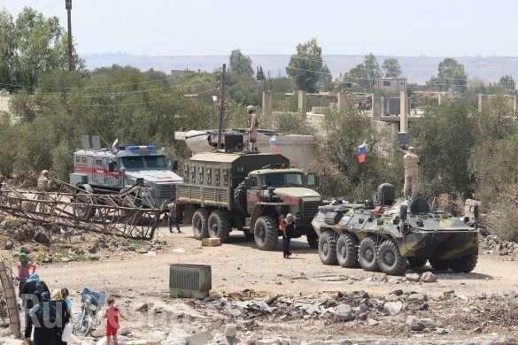 Новейшая бронетехника России впервые замечена на юге Сирии | Русская весна