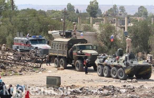 Новейшая бронетехника России впервые замечена на юге Сирии
