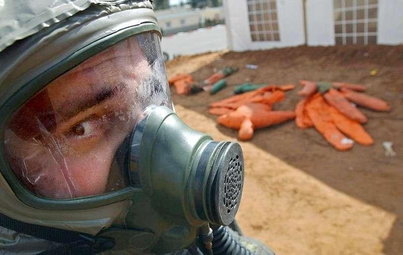 Химические атаки британских паразитов в Сирии как заезженная пластинка