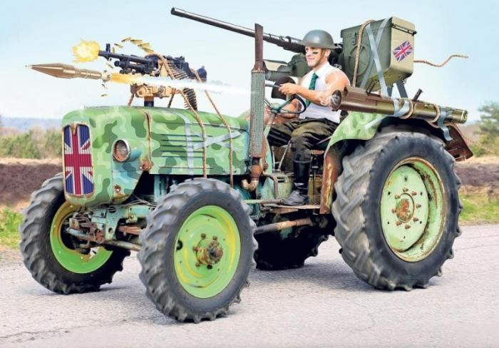 Боевые трактора мелкоБритании или как экономно сдерживать Россию