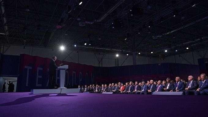 Выступление наVI Международном форуме технологического развития «Технопром-2018»