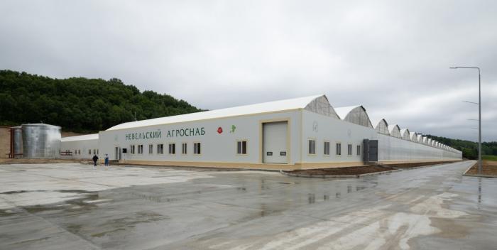 На Сахалине открыли новый современный тепличный комплекс
