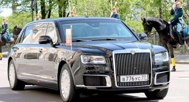 Чем новый лимузин Путина круче старого кадиллака Трампа